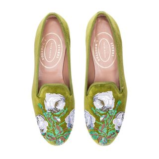 Colefax & Fowler Bowood Slippers