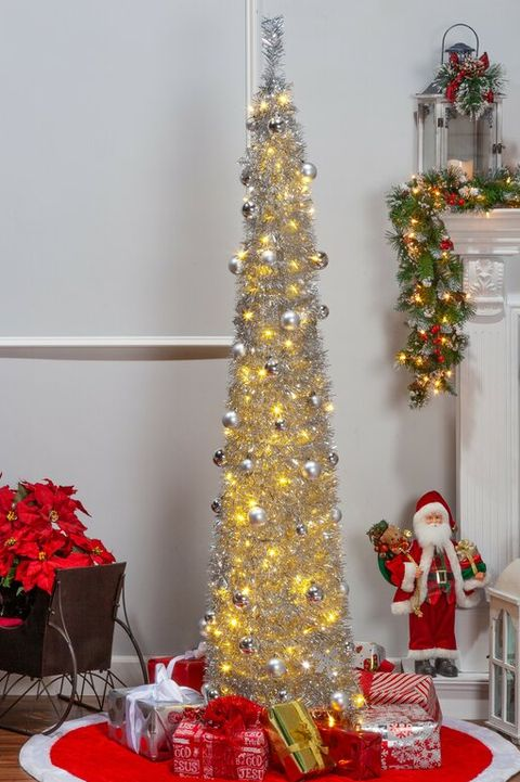 Red White And Silver Christmas Tree.10 Stunning Silver Christmas Tree Ideas Best Silver