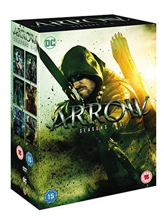 Arrow seasons 1-6 [DVD] [2018]