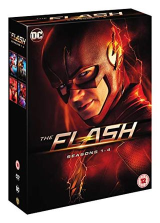 The Flash seasons 1-4 [DVD] [2018]