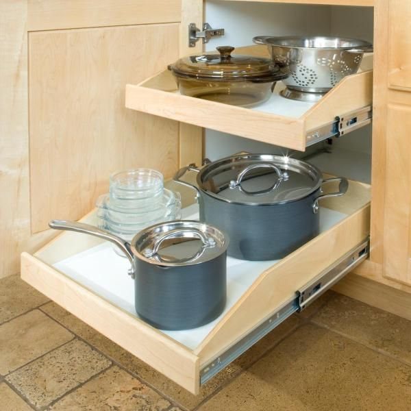 Maxing Out Kitchen Cabinet Storage