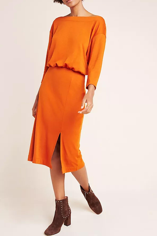 Knit Column Dress