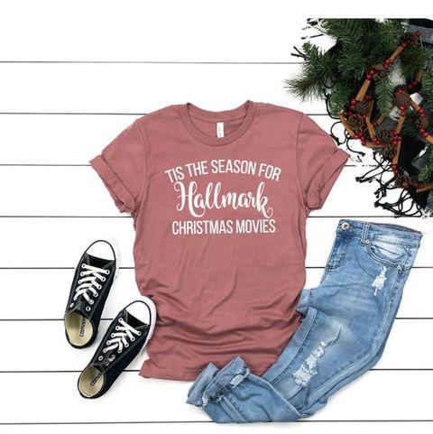 Hallmark Christmas Shirt Svg.Hallmark Christmas Movie Merchandise Hallmark Christmas