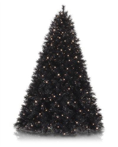Black Christmas Tree.Tuxedo Black Christmas Tree