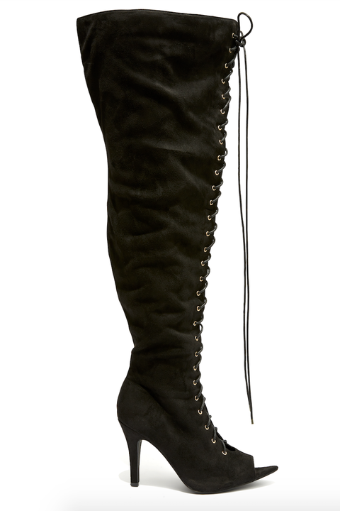 Fashion To Figure Released Thigh High Boots For Plus Size Women
