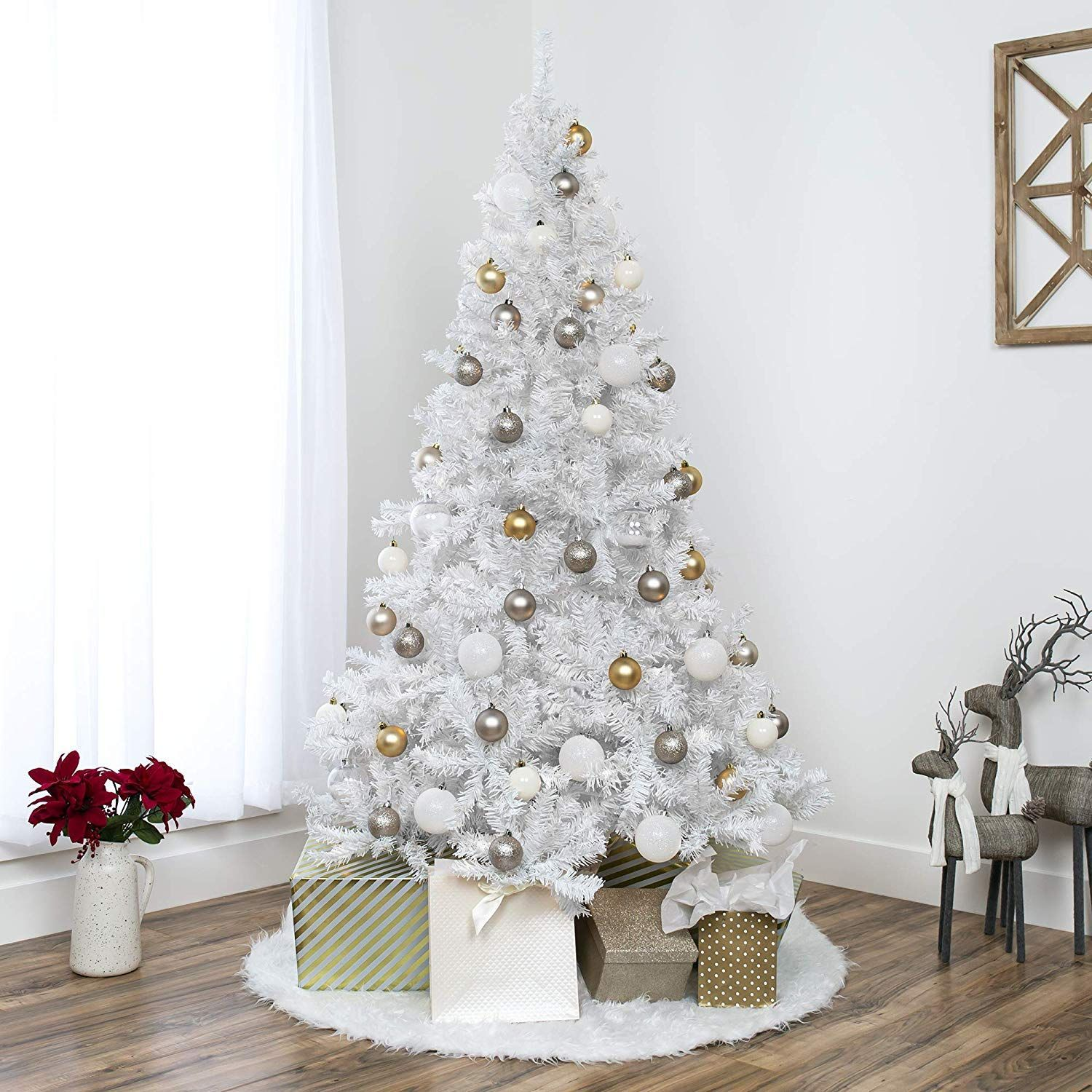 20+ White Christmas Tree Decorations