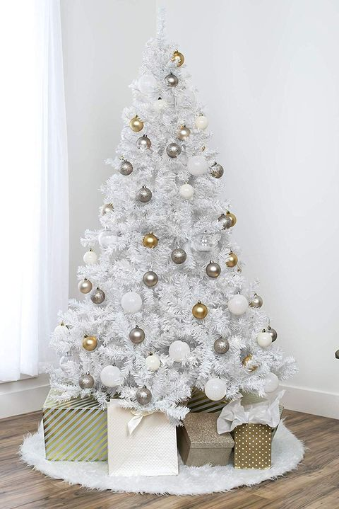 10+ White Christmas Tree Decorations