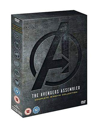 Marvel Studios Avengers 1-4 Complete Set [DVD] [2019]