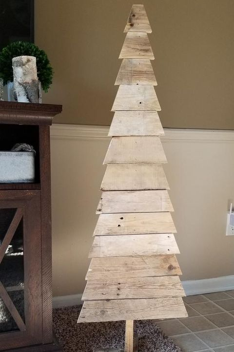 Wood Christmas Tree.15 Creative Pallet Christmas Trees Wooden Pallet Ideas