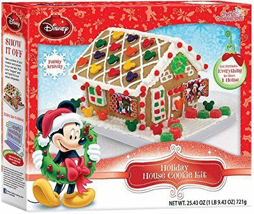 Christmas Gingerbread House Kit.Mickey Mouse S Gingerbread House Kit