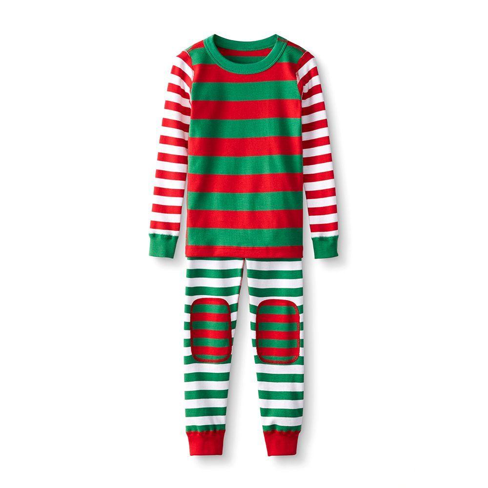 Christmas Reindeer Cotton Pajamas for Toddler Boys Komar Kids Brand