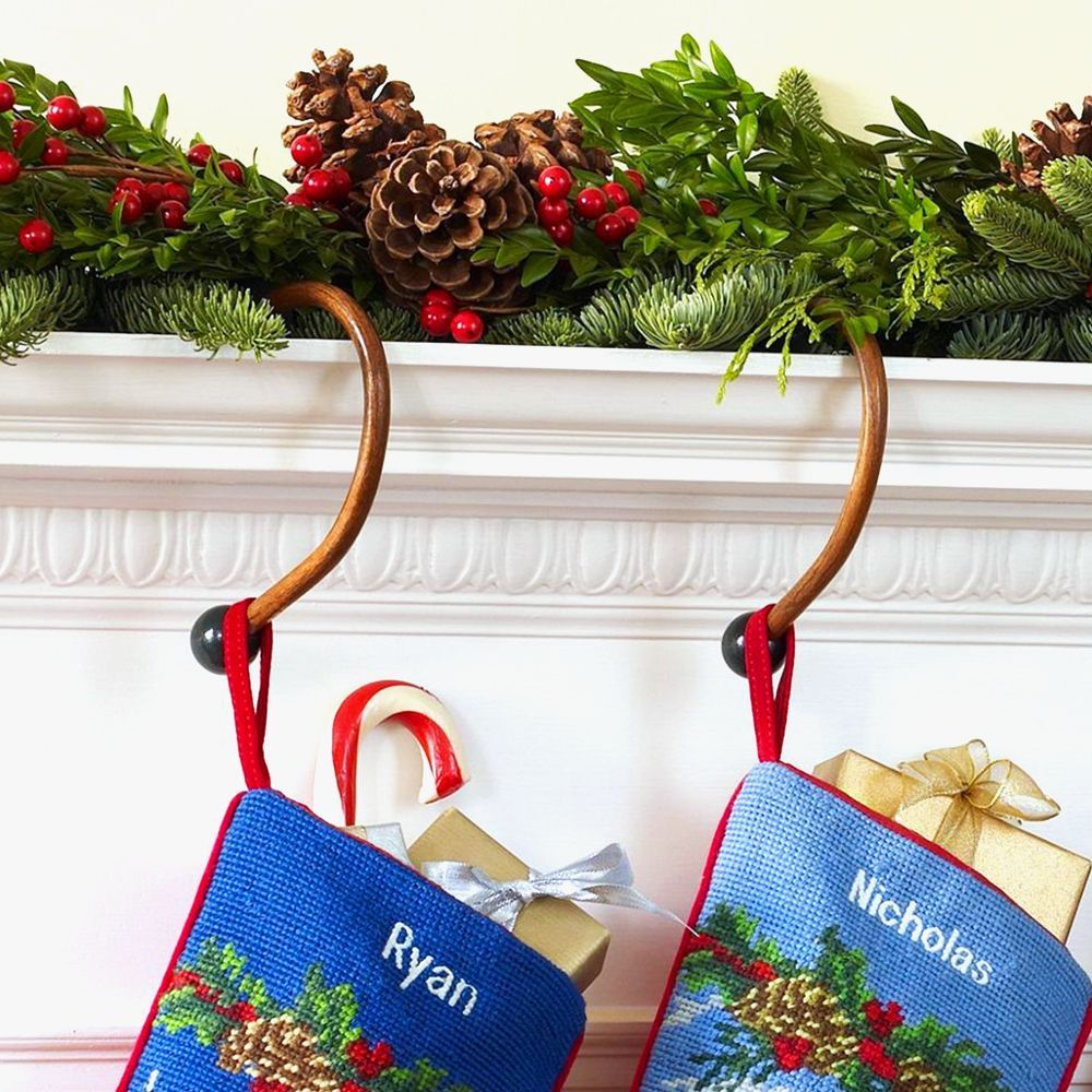 Ll Bean Christmas Trees.L L Bean Wooden Stocking Hangers Set Of Two