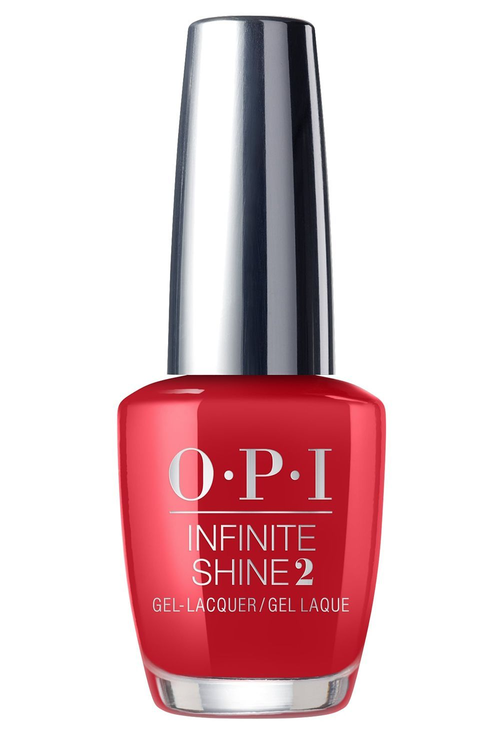 Opi Infinite Shine Nail Laquer In Big Apple Red