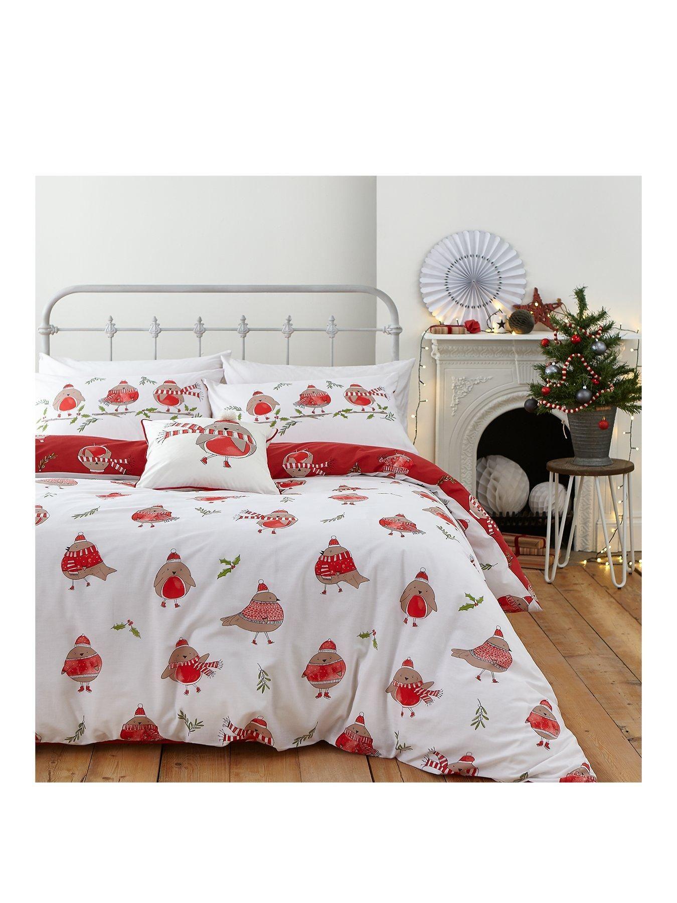 26 Christmas Bedding Sets Best Christmas Duvet Covers