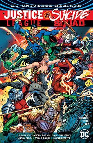 DC Universe Rebirth: Justice League vs. Suicide Squad