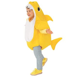 Kid's Baby Shark Costume with Sound Chip