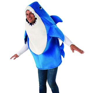 Adult Daddy Shark Costume with Sound Chip