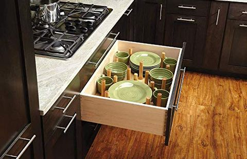 Kitchen Dish Drawer Systems Guide Why Store Plates In Drawers