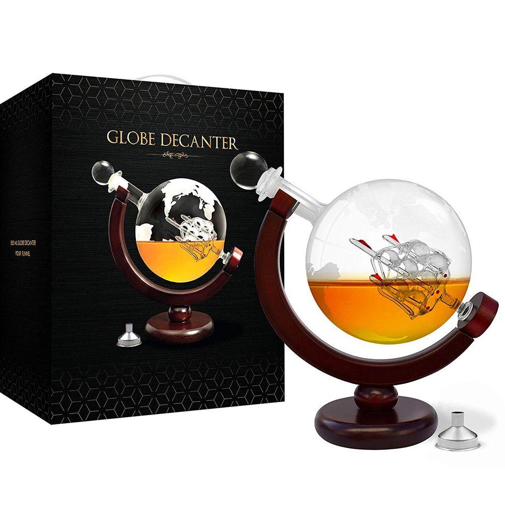 Whiskey Globe Decanter