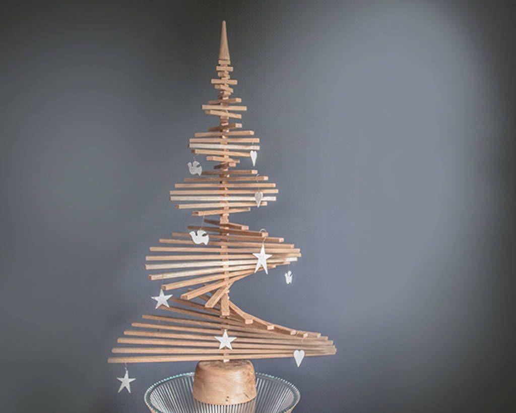 15 Wooden Christmas Trees To Buy This Festive Season