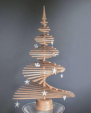 Arbre de Noël en chêne alternatif
