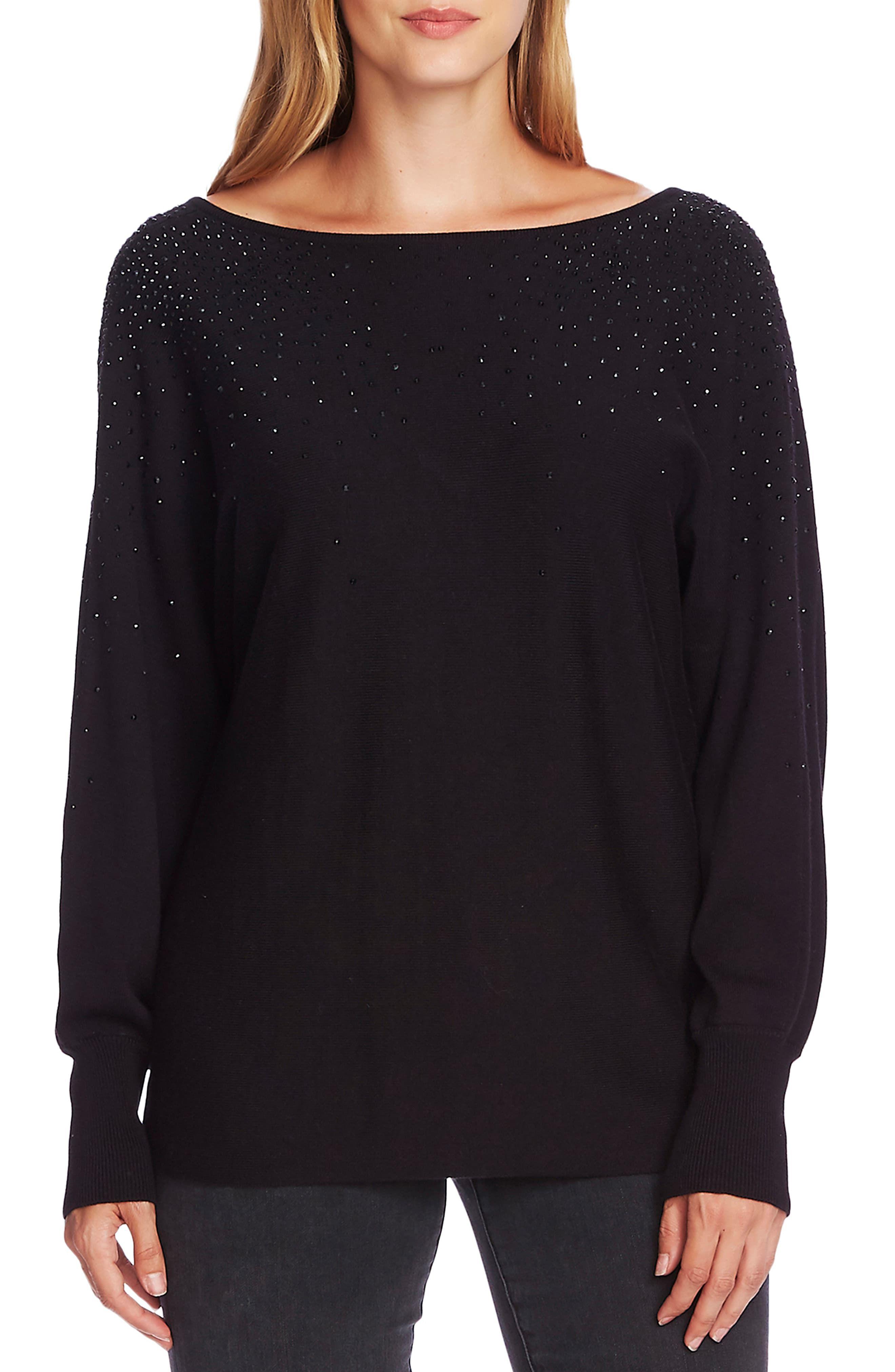 Woman Stars Sky Long Sleeve Funny Drawstring Sweater