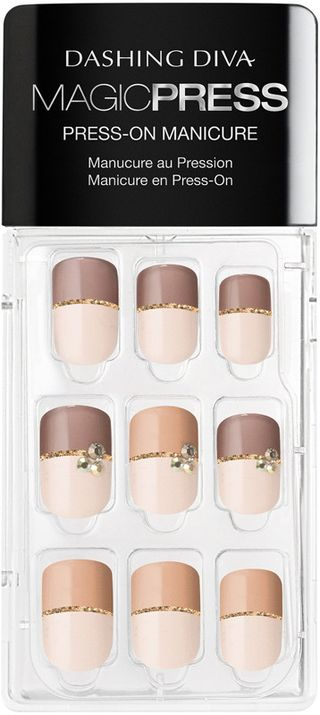 Dashing Diva Online Only Magic Press Two Tone Temptation Press-On Gel Nails