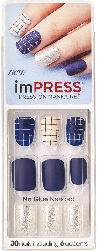 Kiss Who Dat imPress Press-On Manicure