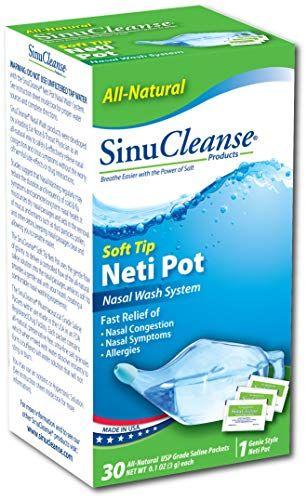 Système Sinucleanse Neti-Pot