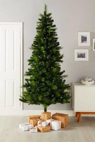 Tall Slim Christmas Trees Artificial.25 Slim Christmas Trees For Small Spaces Pencil Christmas