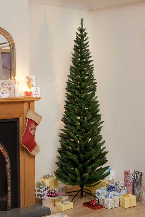 How To Keep Cats Off Christmas Trees.25 Slim Christmas Trees For Small Spaces Pencil Christmas