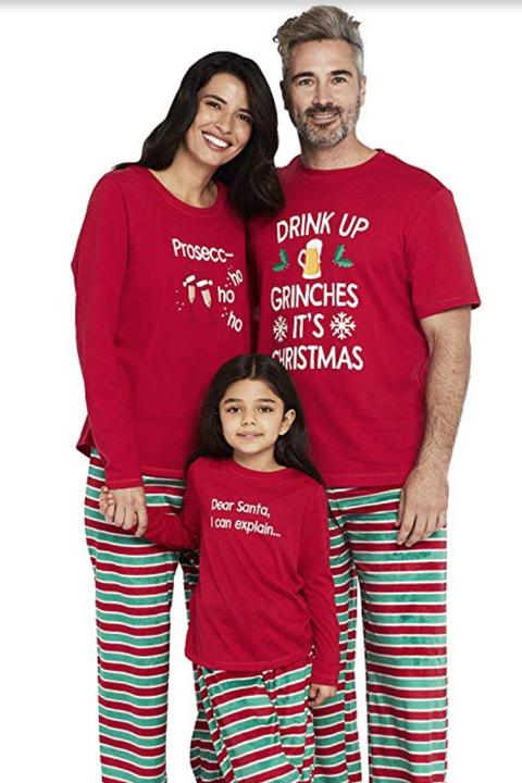 Christmas Pajamas.25 Best Matching Family Christmas Pajamas 2019 Funny