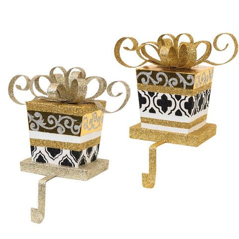 Cute Holiday Stocking Holders For Mantle Christmas Stocking Holders