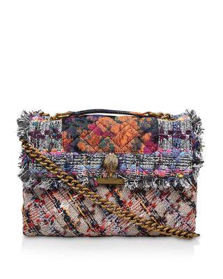 Grand sac Kensington en tweed, £ 159