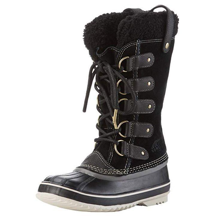 Housking Womens Winter Duck Boots Outdoor Waterproof Mid Calf Rain Booties with Warm Fur