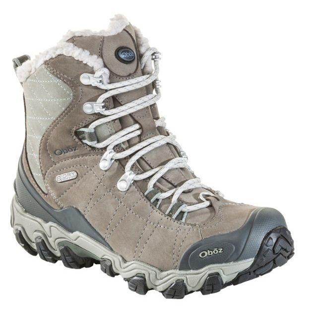New Khaki Womans Boots Faux Fur Ankle Flat Casual Walking Hiking Warm Ladies UK