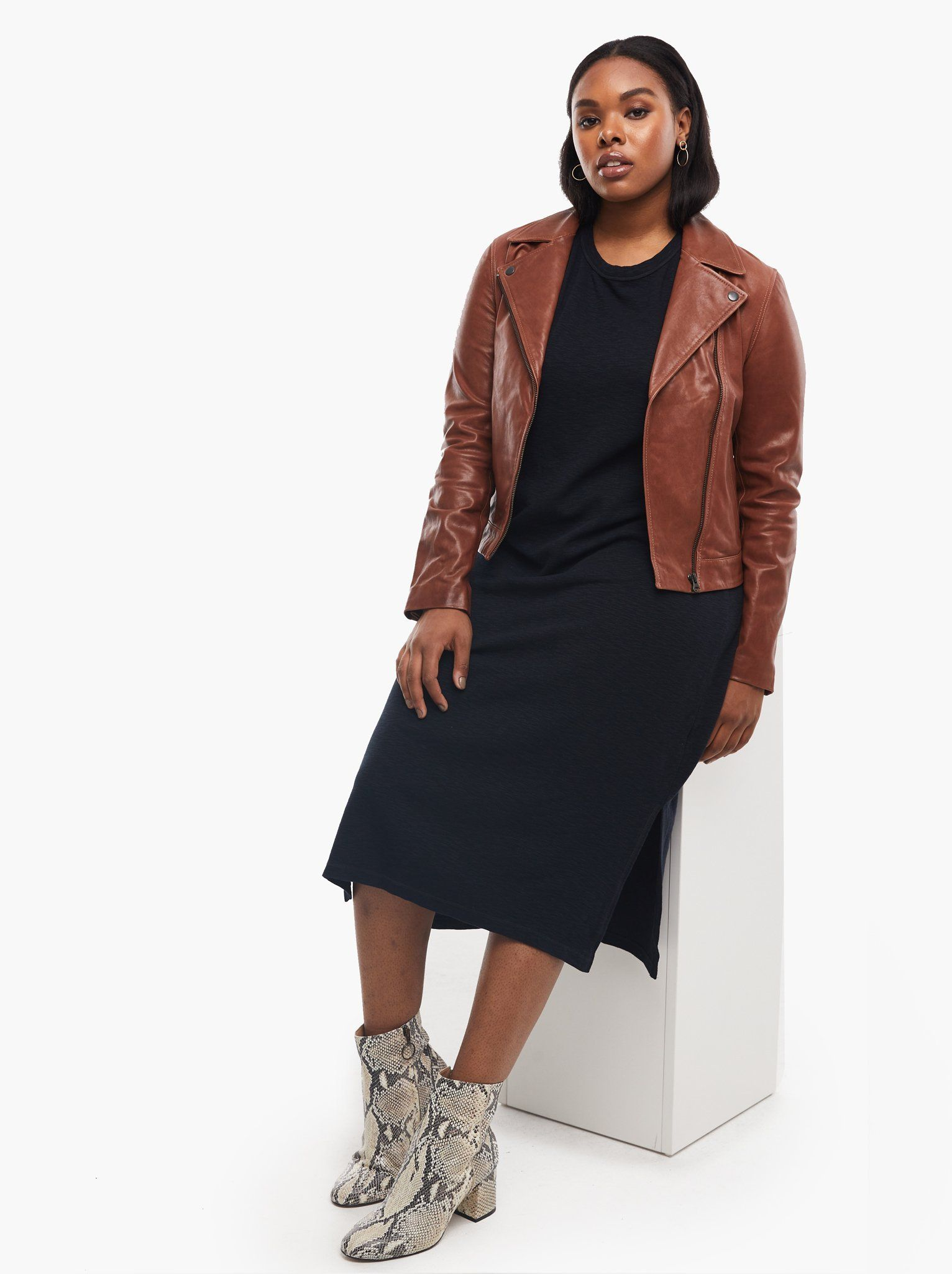 Maha Leather Jacket