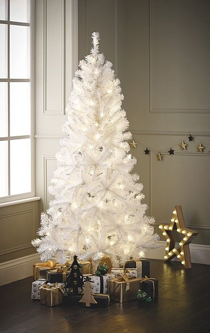buy popular d54f0 08daf 8 White Christmas Trees To Buy For A Snowy Winter Wonderland ...