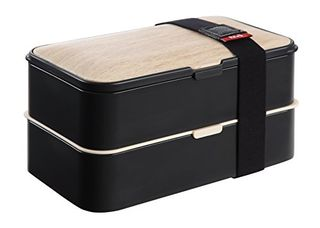 Leakproof Bento Box 2 Tiers Bento Lunch Box with Reusable Cutlery