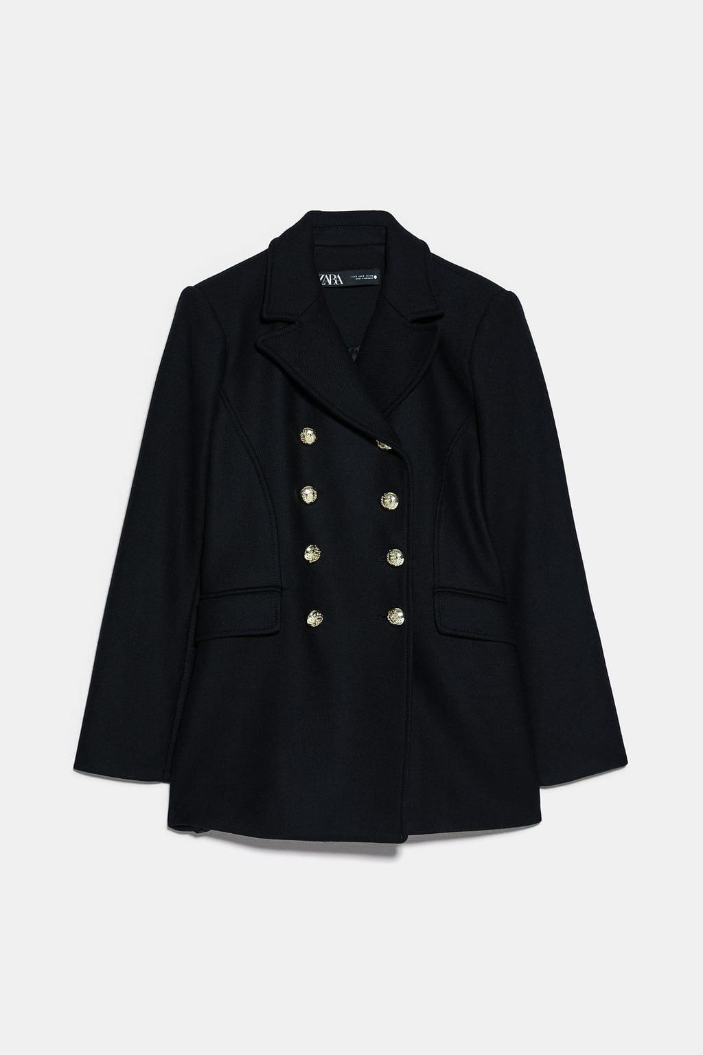 Cappotto moda 2019: il cappotto corto di Zara a meno di 100