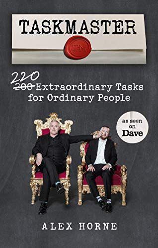 مدير المهام: 220 عملًا استثنائيًا للأشخاص العاديين من تأليف أليكس هورن