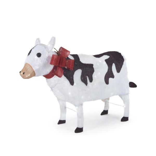 Home Depot Christmas Yard Cow Decoration 2019 Best Decorations