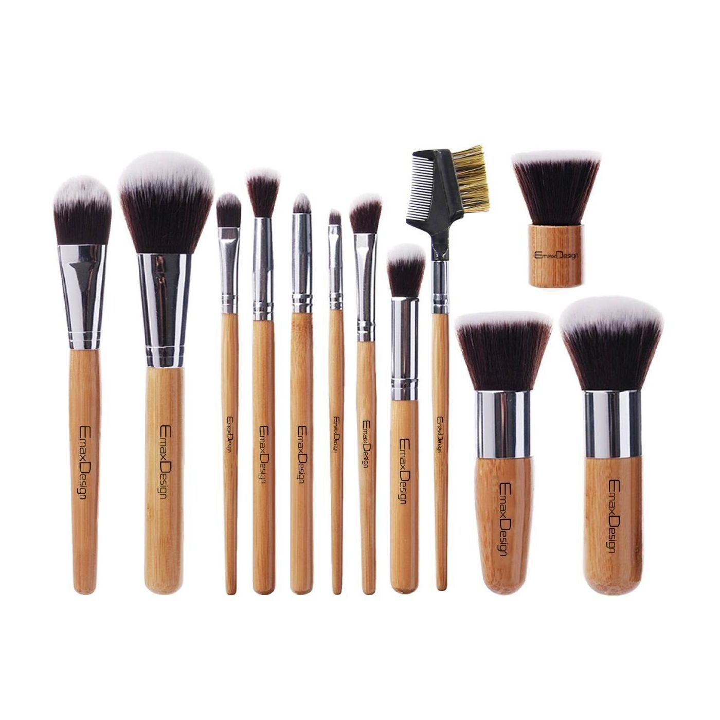 10 Best Makeup Brushes For Flawless Application Best Makeup Brush Sets 2021