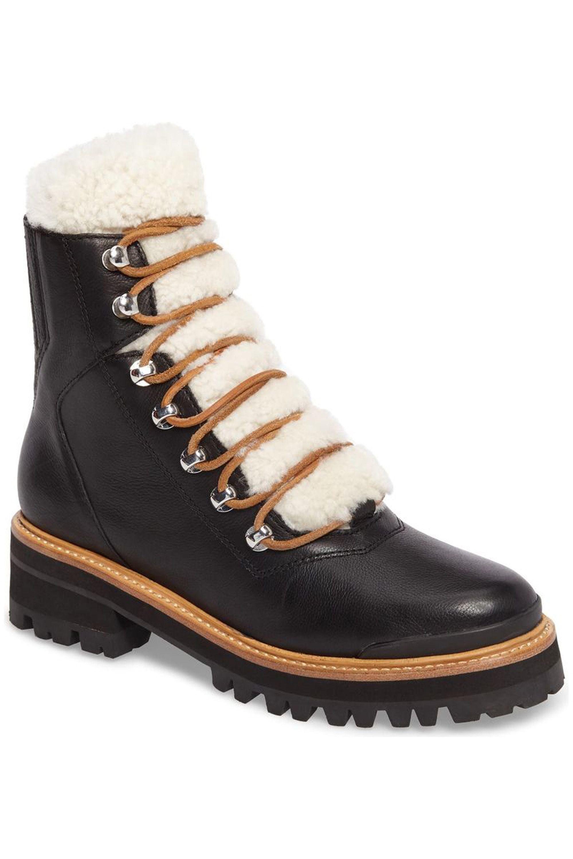 tie up winter boots