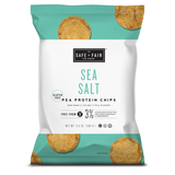 Safe + Fair Pea Protein Chips