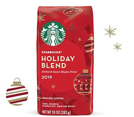 Starbucks Christmas Coffee.Starbucks 2019 Holiday Blend K Cups And Coffees Are Back In