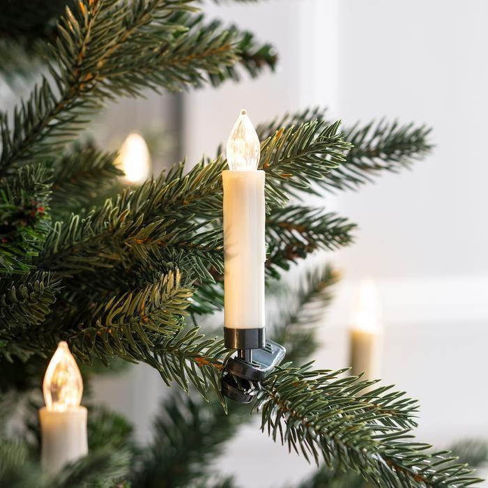 10//20//30x Wireless Christmas LED Candle Light Xmas Tree Lighting Home Decoration
