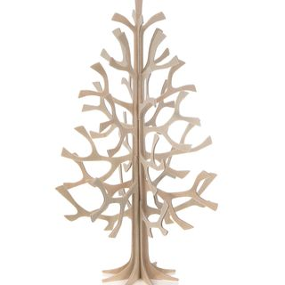 Arbre en bois naturel de 25 cm
