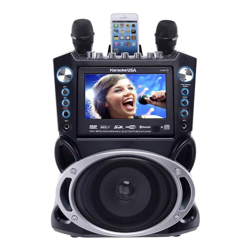 Karaoke USA Portable System