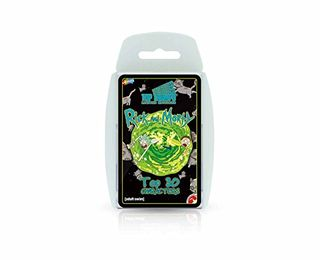 Rick and Morty Top Trumps Card Game